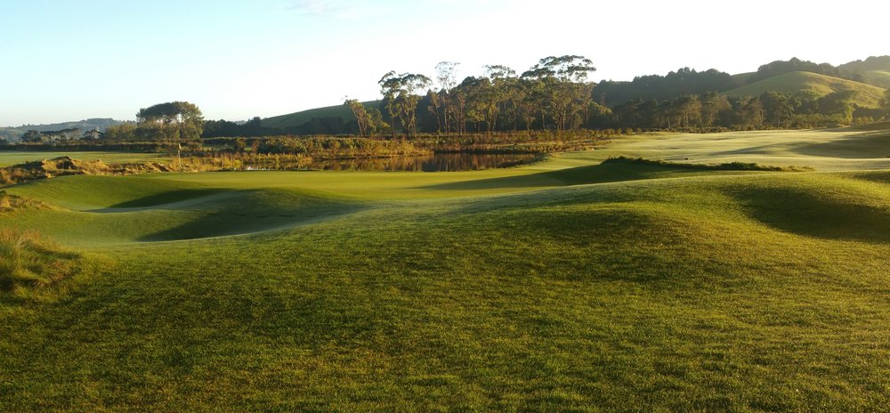 Windross Farm golf course where New Zealand's first LPGA Tour event will be staged at the end of the month.