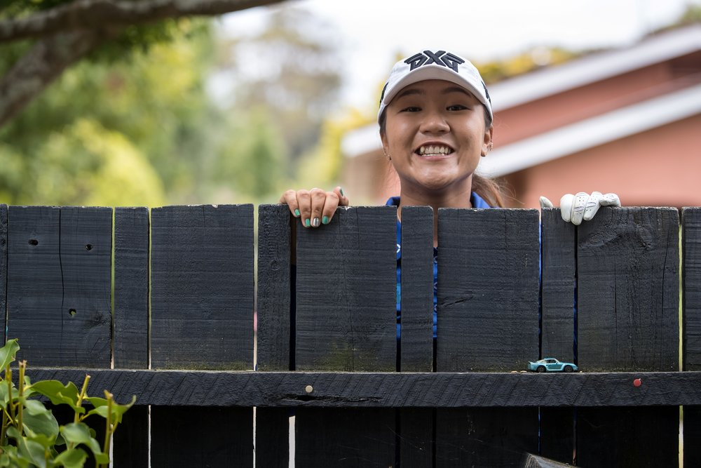 "Lydia Ko in the New Zealand Women's Open ""in our own backyard"" advertising campaign."
