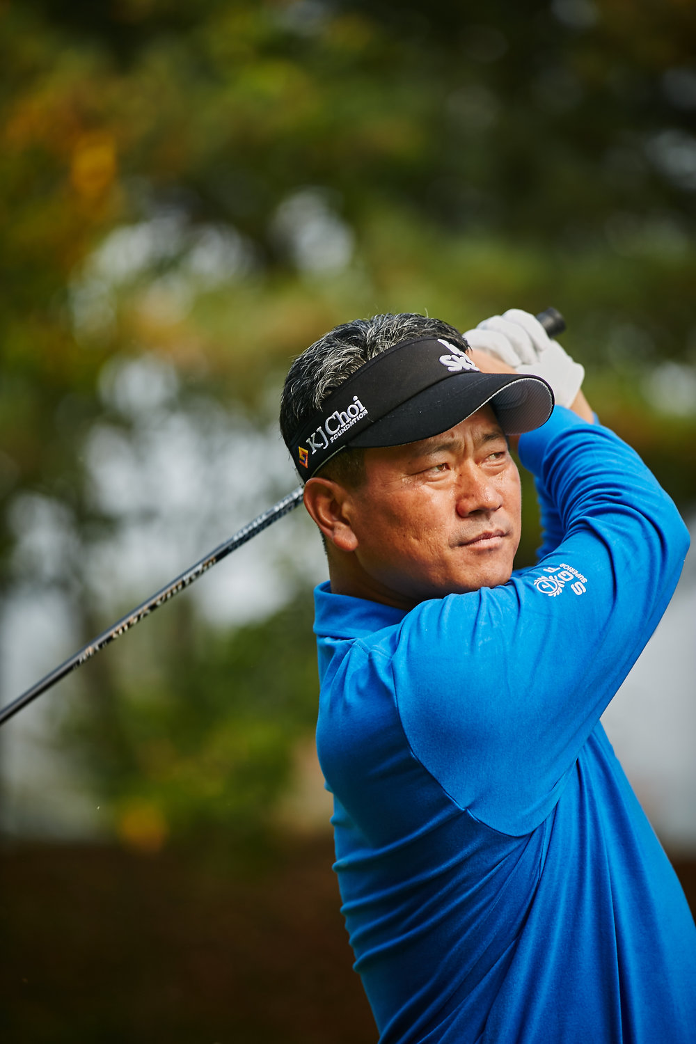 K J Choi, a long-time top Asian golfer, who has entered the New Zealand Open