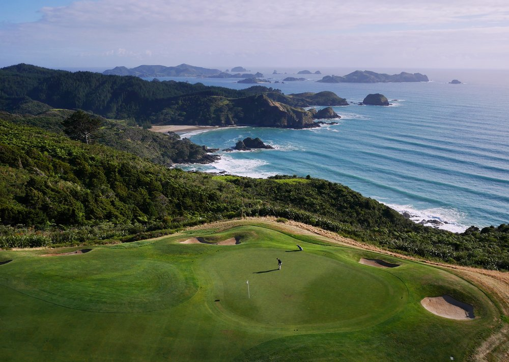 Kauri Cliffs in Northland, an example of some of New Zealand's spectacular golf courses