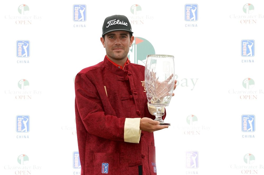 English golfer Callum Tarren who will join Nick Voke on the Web.com Tour in the United States next year