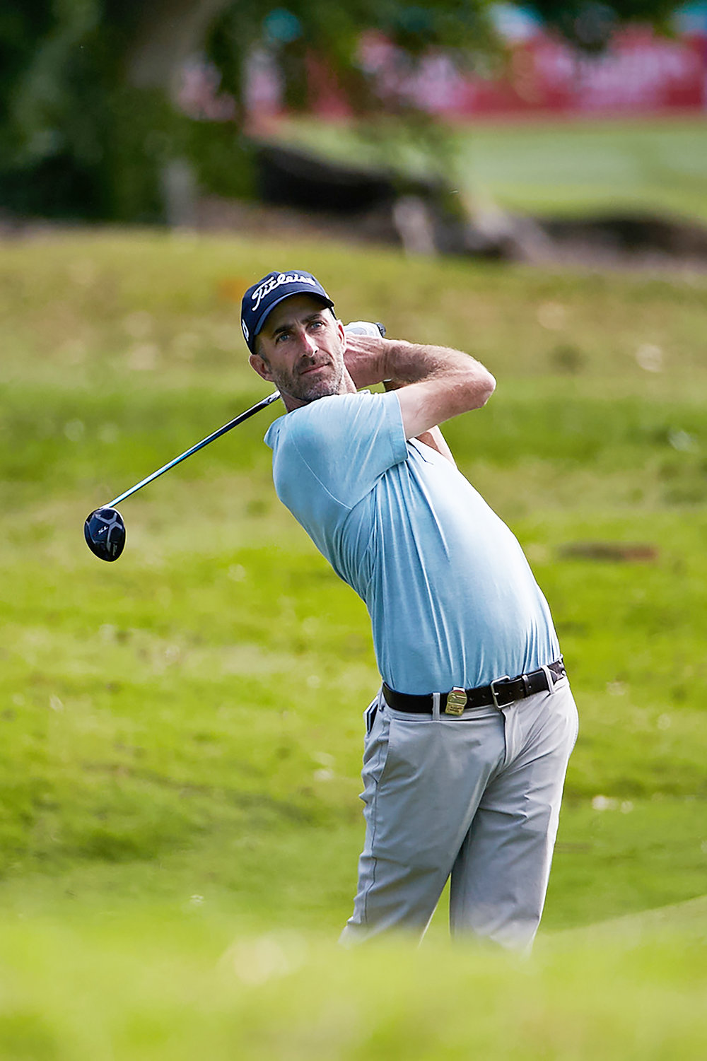 Australian golfer Geoff Ogilvy who will join Michael Campbell as one of two US Open winners to compete in the New Zealand Open.