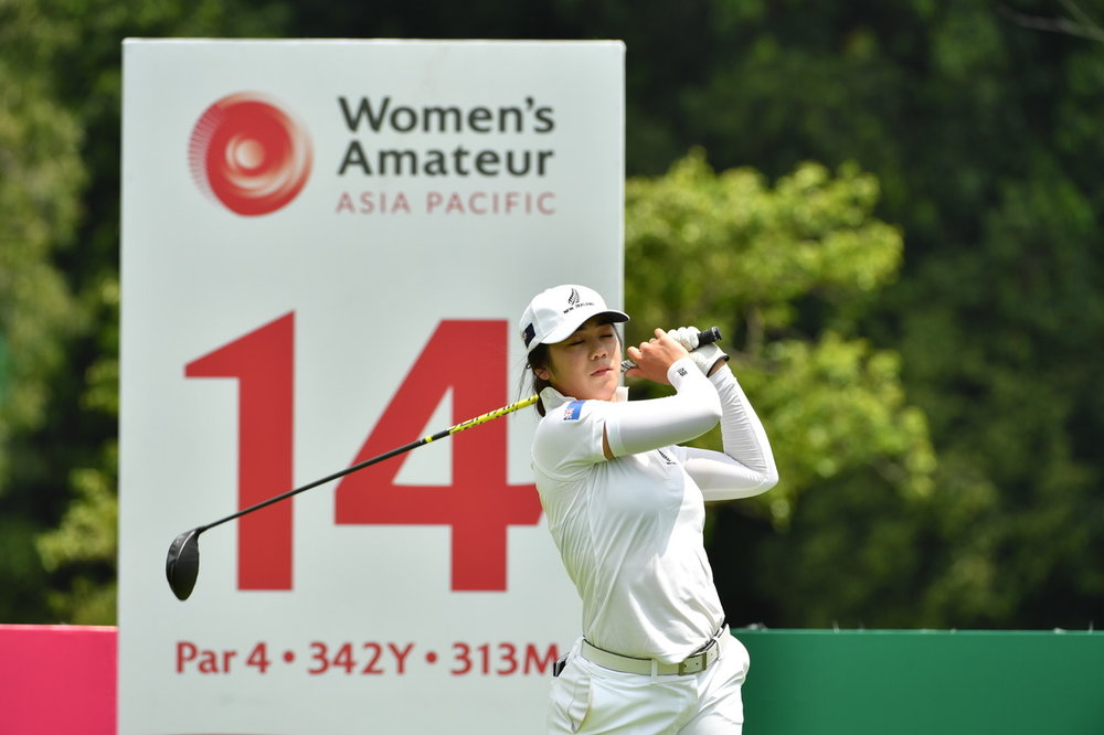 Auckland golfer Wenyung Keh who finished second at the Women's Amateur Asia-Pacific Championship in Singapore last year. She will play at Augusta National in the United States in April.