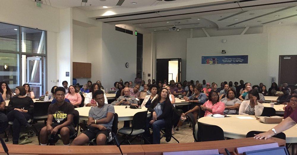 2017-18 CBPUSD Parent Orientation Meeting