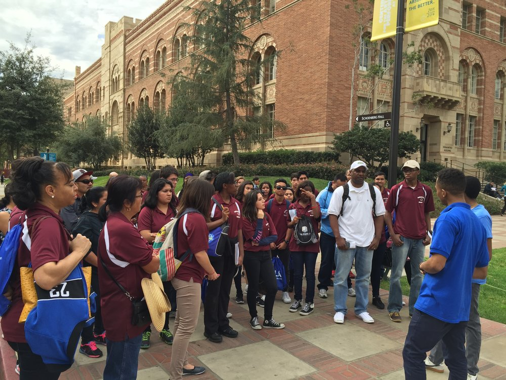 College Bound Oceanside Tour to UCLA