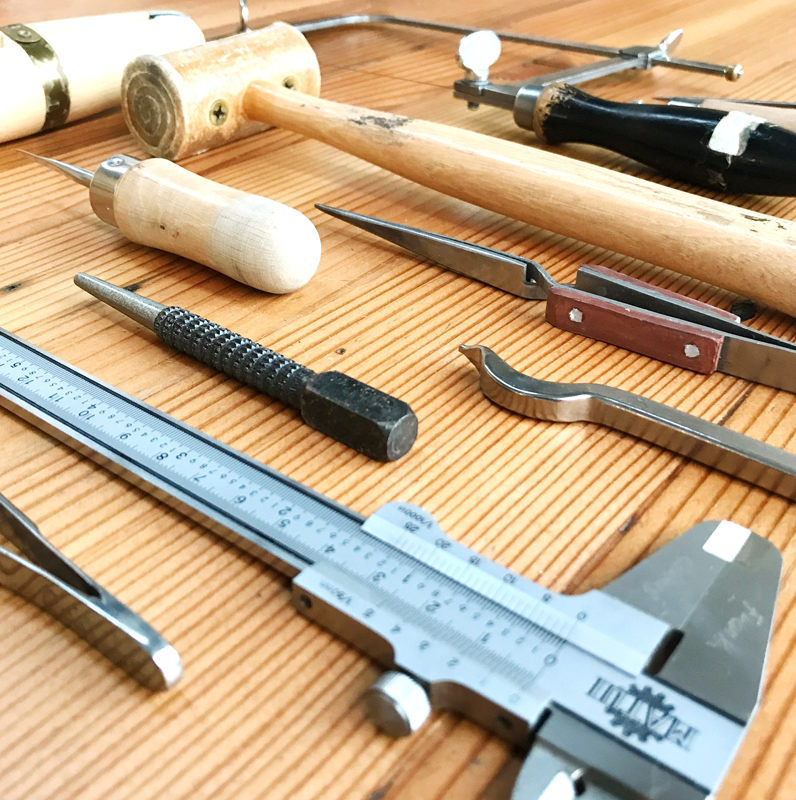 My tool collection for workshops is slowly growing but I need your help to raise funds for more.