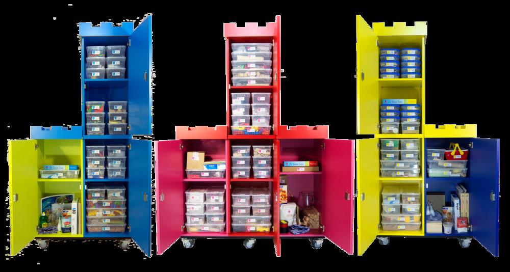 Die Technik Türme für Kindergarten, Grundschule und Klasse 5 & 6.