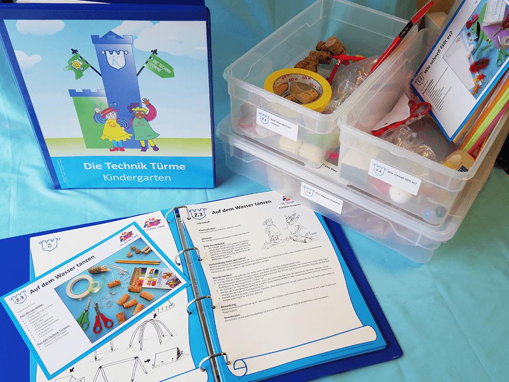 Technik-Tuerme-Unterrichtsmappe-Kindergarten