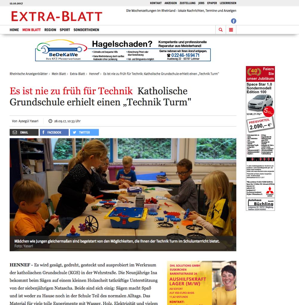 Rheinische Anzeigenblätter - Katholische Grundschule