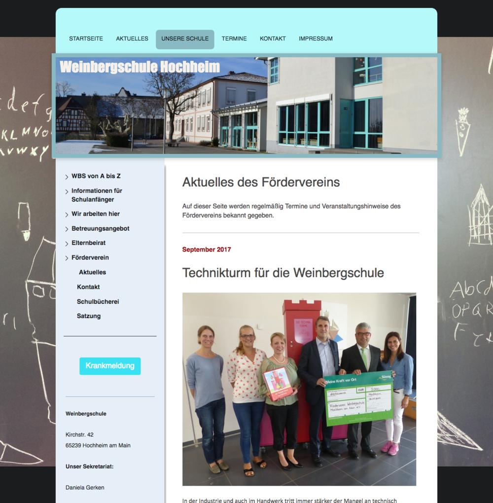 Forderverein Weinbergschule