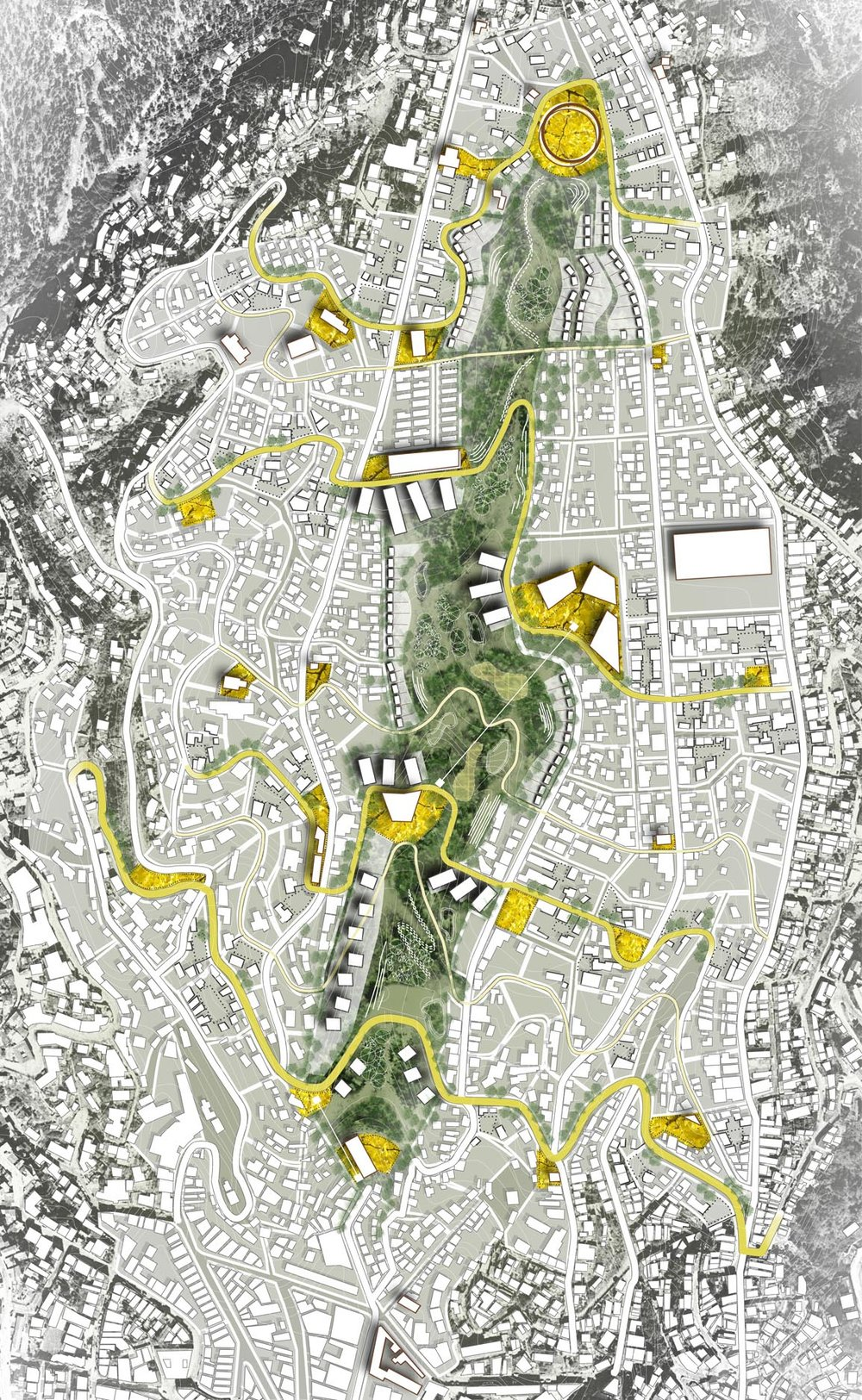 VALPARAISO - CHILE-  MASTER PLAN