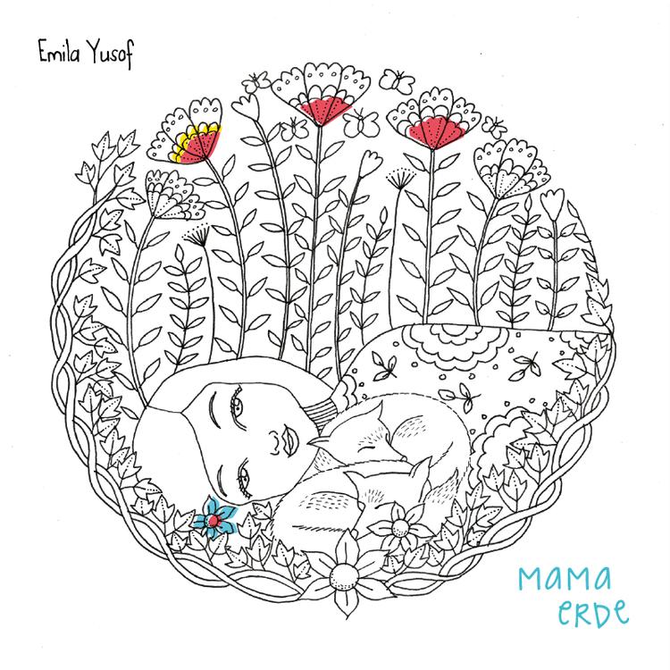 Malbuch Mama Erde — feingespinst
