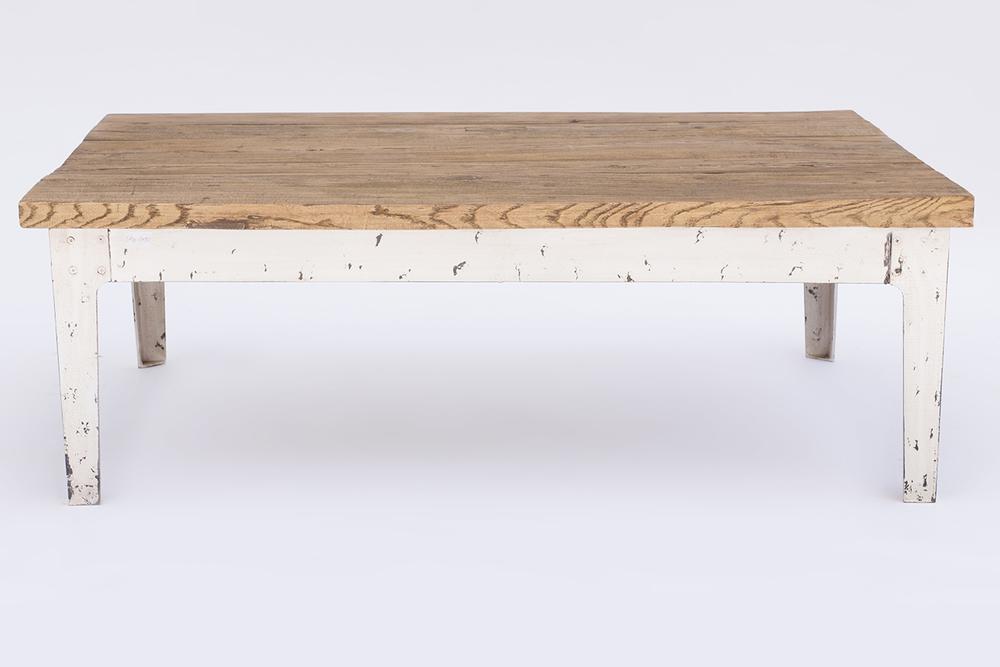 Gloss raffles mesa de centro sq7090 for Mesa comedor blanca y madera