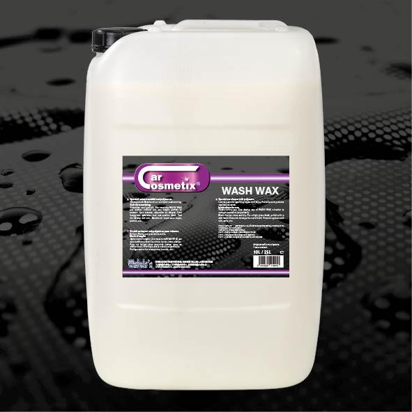 Wash Wax 25L - NLZeer hoogwaardig autowasmiddel met polymeren.FR Produit nettoyant de très haute qualité aux polymers pour voitures.ENHigh quality special car cleaner with polymers.