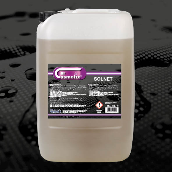 SOLNET - NL Is een laag schuimende speciale vloerreinigeruitermate geschikt voor garagevloeren.FR Est un nettoyant spécial, non-moussantpour le nettoyage du sol de garage.EN Is a low foaming special cleaner designed for garage floors.25L/210L/1000L