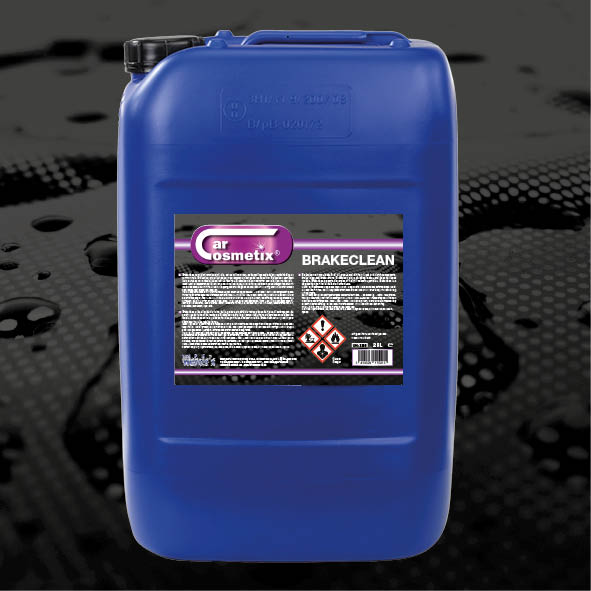 Brakeclean 25L - NL Brakeclean is een ontvettervoor alle mekaniek.FR Est un produit pour dégraissertous les méchanismes.EN Brakeclean is a degreasingagent for all mechanisms.500ml/25L/60L/210L