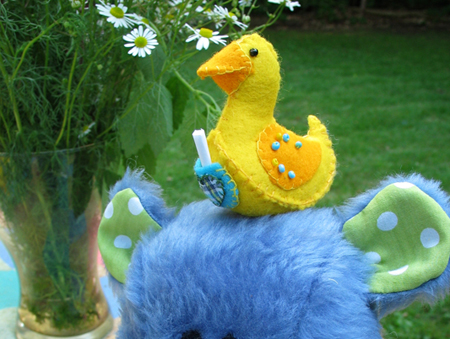 FREE LUCKY DUCKY SEWING PATTERN
