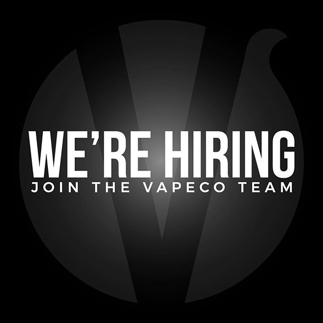 We're looking for outgoing, responsible, hard-working, and honest employees to join the #Vapeco family as we scale to our third Las Vegas location! If you have interest in working with #Vapeco, please visit any of our locations to apply! Retail experience and vaping knowledge preferred. 👌🏼🙌🏼 •••••••••• Vapeco | The Upscale Vaping Experience 📍 Two Las Vegas Locations 🏙 Summerlin & North West 📱 (702) 979 6000 🖥 www.vapeco.us