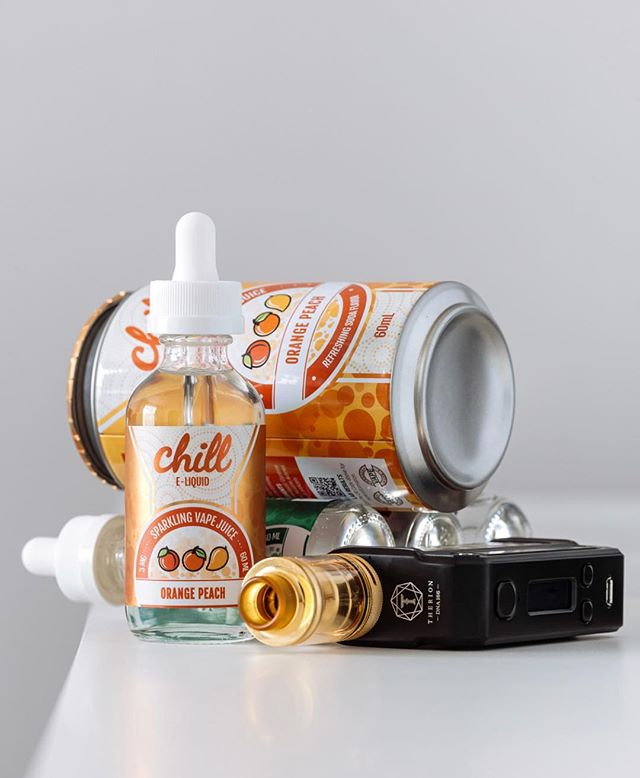 Orange Peach is BACK by popular demand! #Chill by USA Vape Lab is an incredible soda-inspired line that'll keep you cool! 📸: @letsvapesafe •••••••••• Vapeco | The Upscale Vaping Experience 📍 Two Las Vegas Locations ⚠️ THIRD LOCATION COMING SOON 🏙 Summerlin & North West 📱 (702) 979 6000 🖥 www.vapeco.us