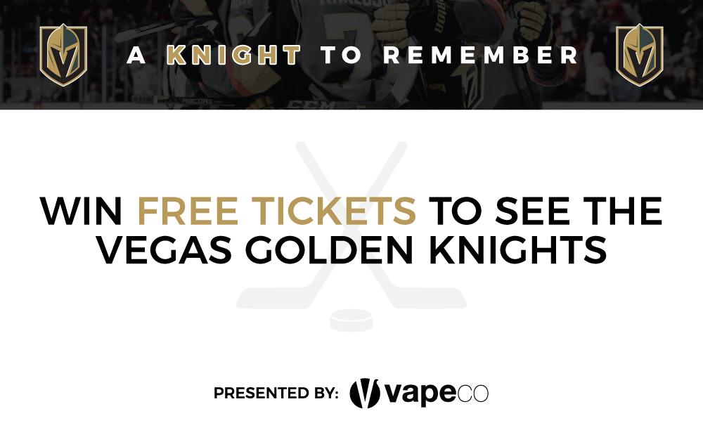 VGK Giveaway - Vapeco Las Vegas