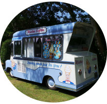 vintage ice cream van in kent - ema