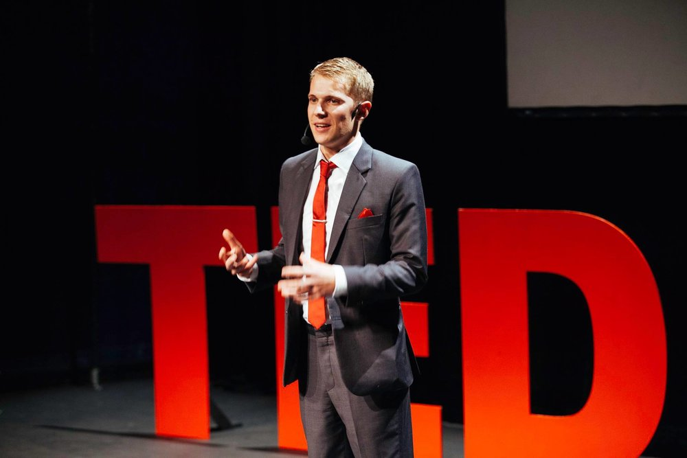 Chris Cook at TEDx University of Leeds 2016