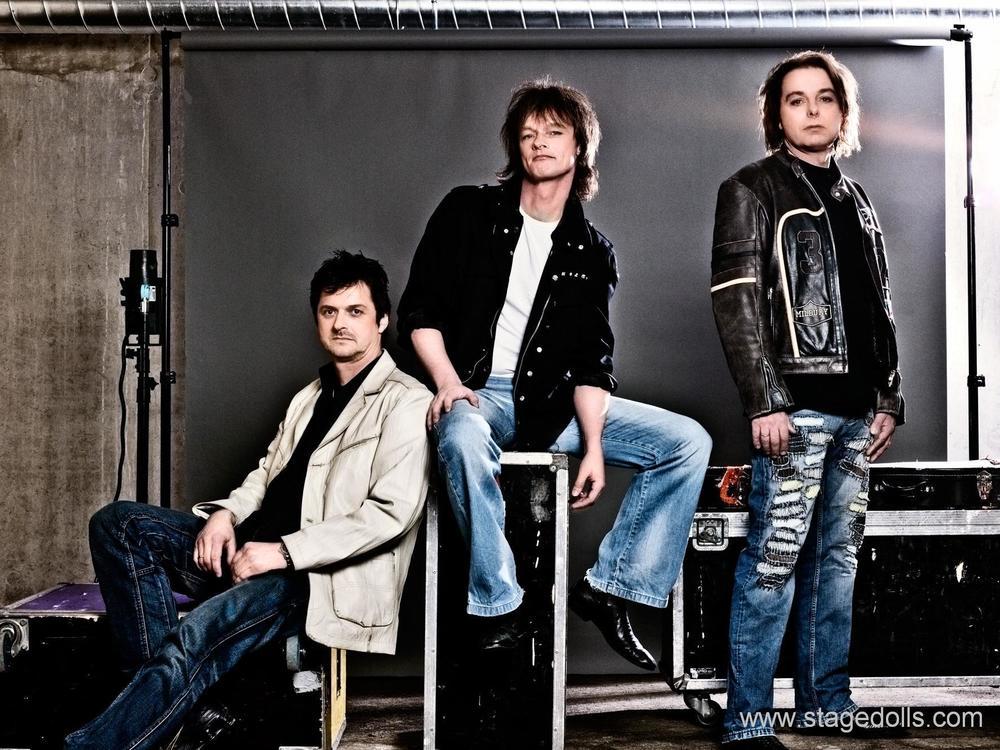De legendariske rockerne i Stage Dolls kommer til Sørlandets Travpark fredag 22.juli. Promofoto: Med tillatelse fra Livegruppen: