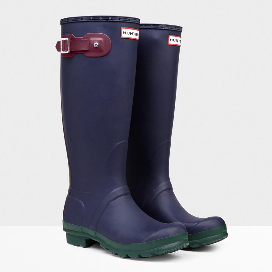 Contrast Rain Boots