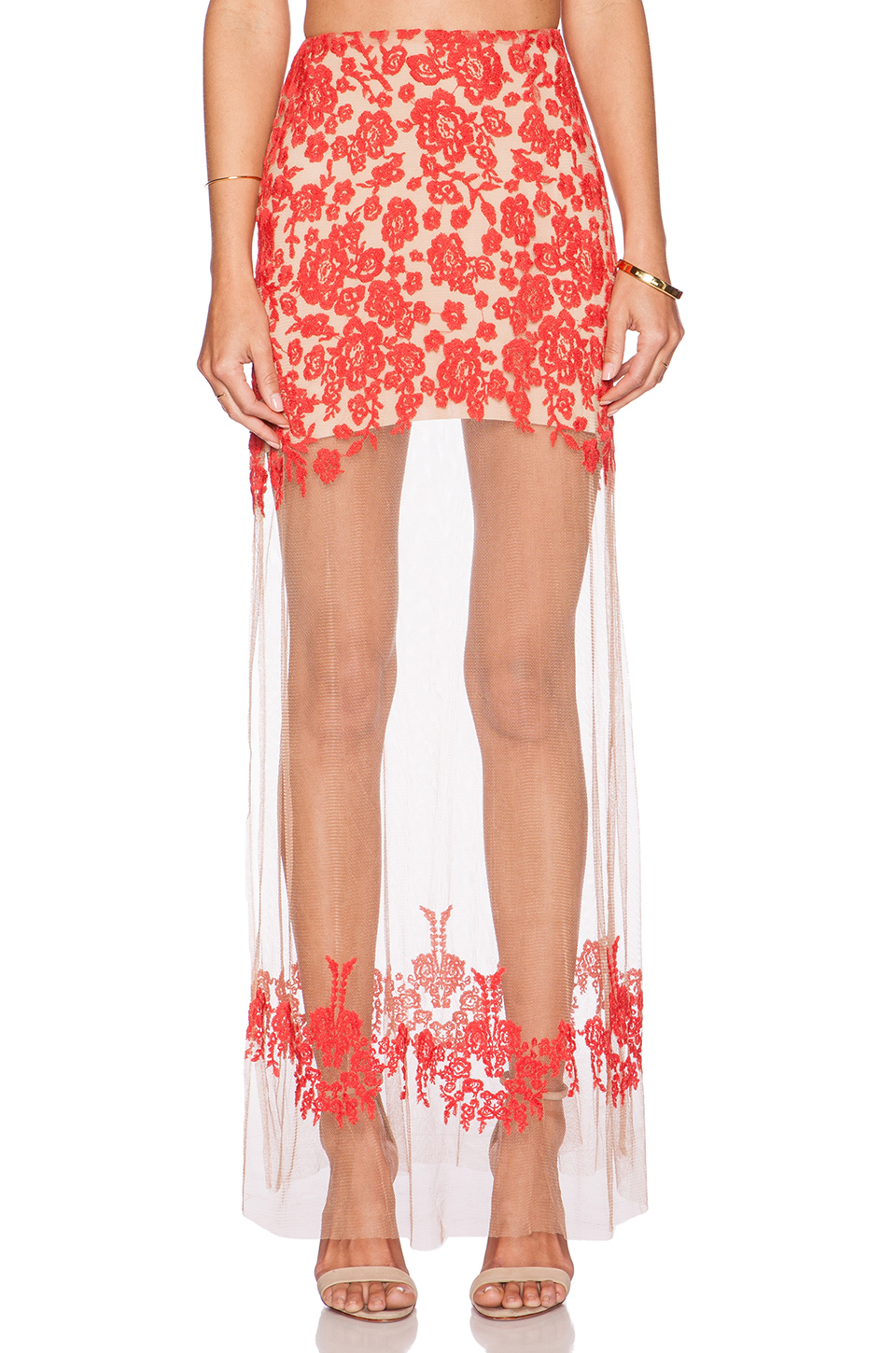 for love and lemons | Luau Maxi Skirt