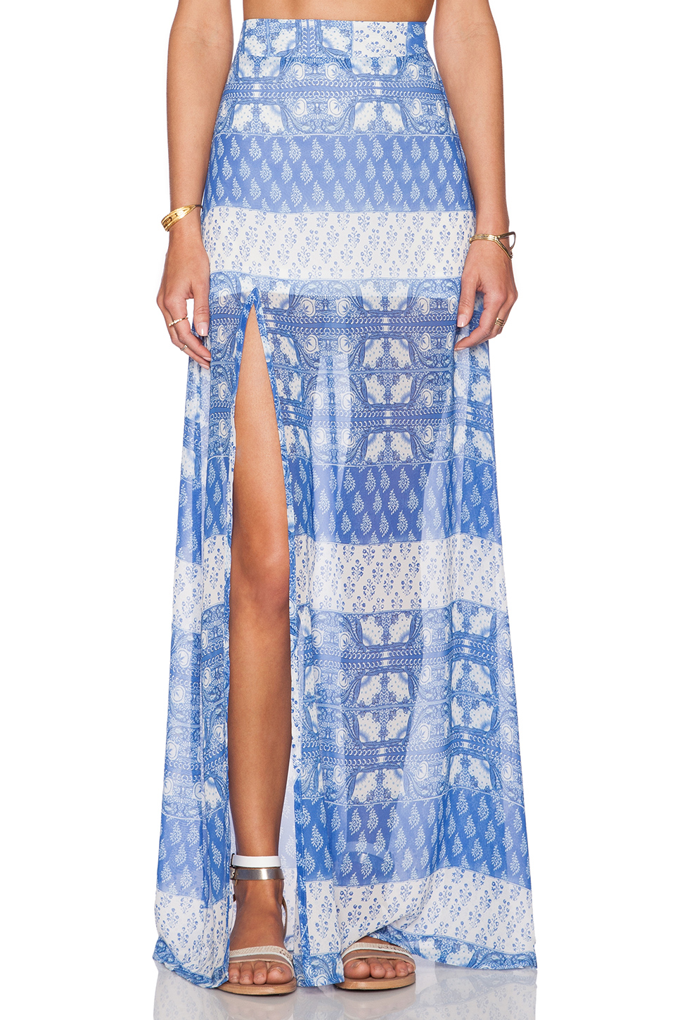 Show Me Your Mumu | Mick Slit Maxi Skirt