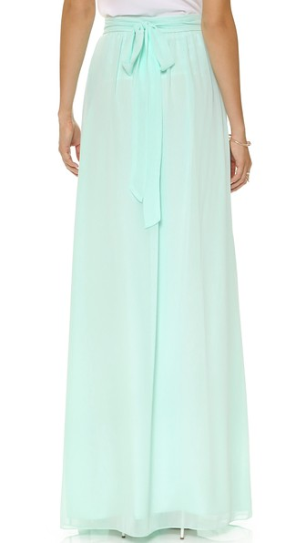 Whitney Wrap Maxi Skirt