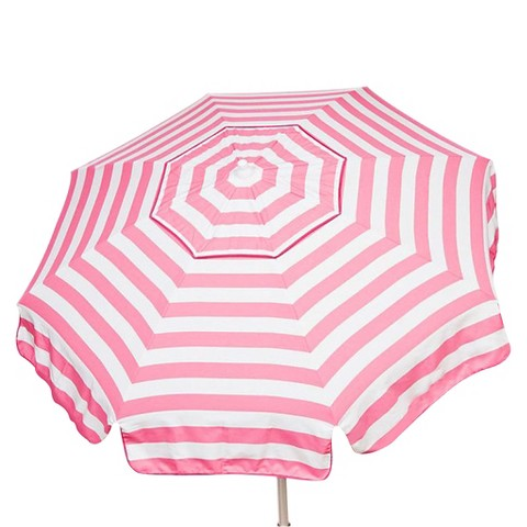Parasol 6' Italian Aluminum Collar Tilt Beach Umbrella