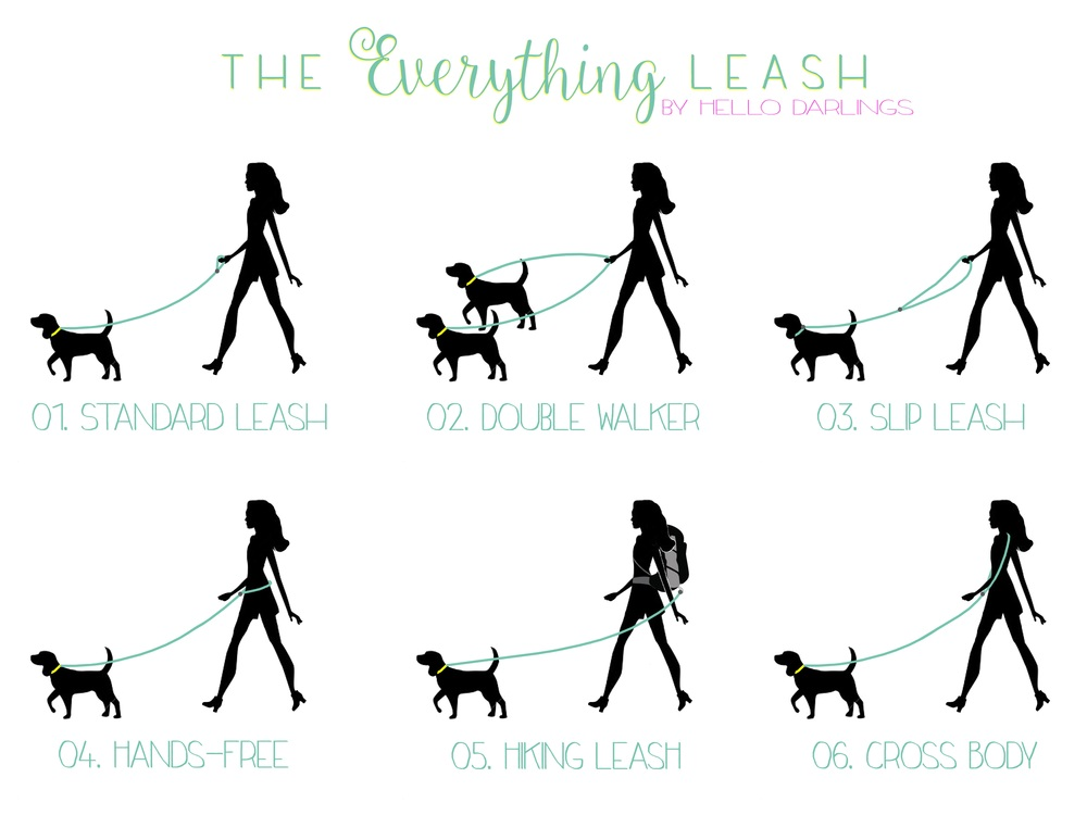 "Pin It! The ""Everything Leash"" by Hello Darlings"