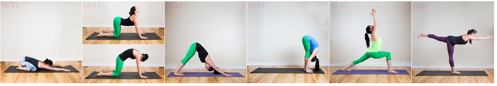 five-minute yoga sequence