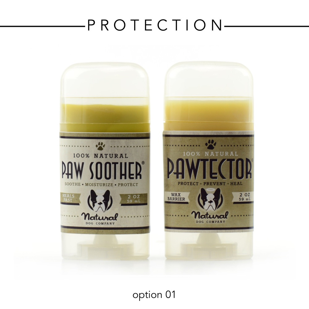 Natural Dog Company Paw Soother and PawTector - $32.32 for both