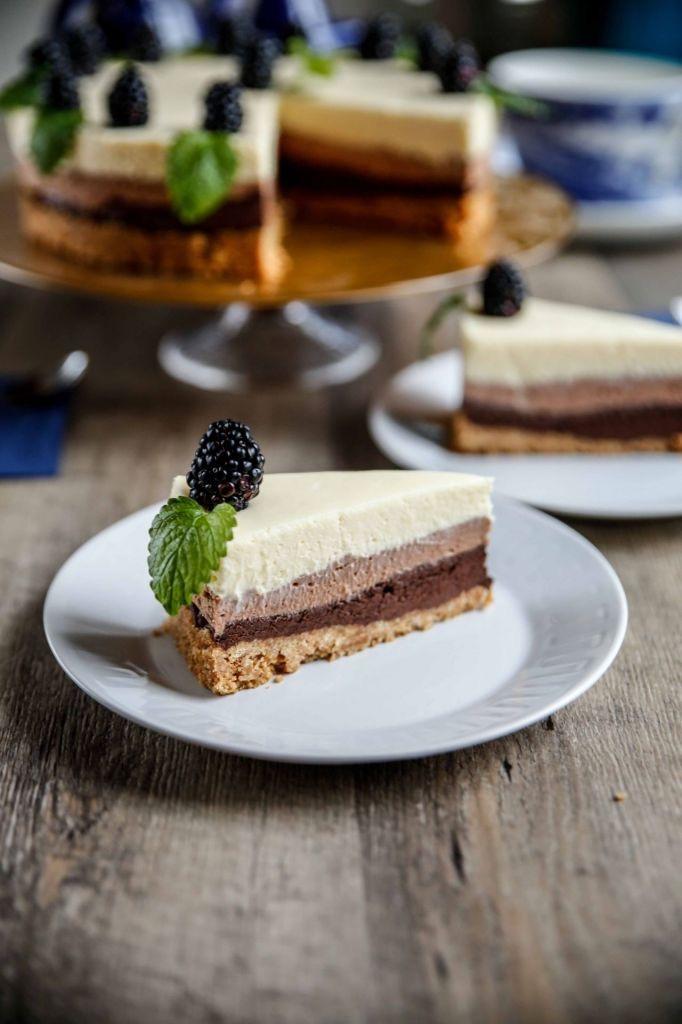 Trippel chokladcheesecake från Matmagasinet
