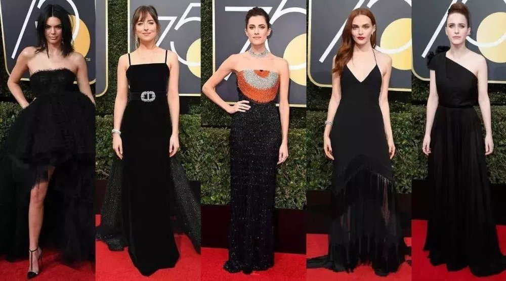 It is not an easy work to stand out among the all-black cast, however the stylists did a good job to really make the stars 'glow'