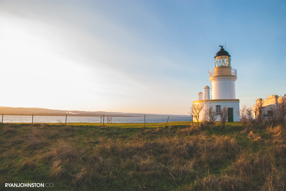 Sunrise at Fortrose Lighthouse // 29.12.14