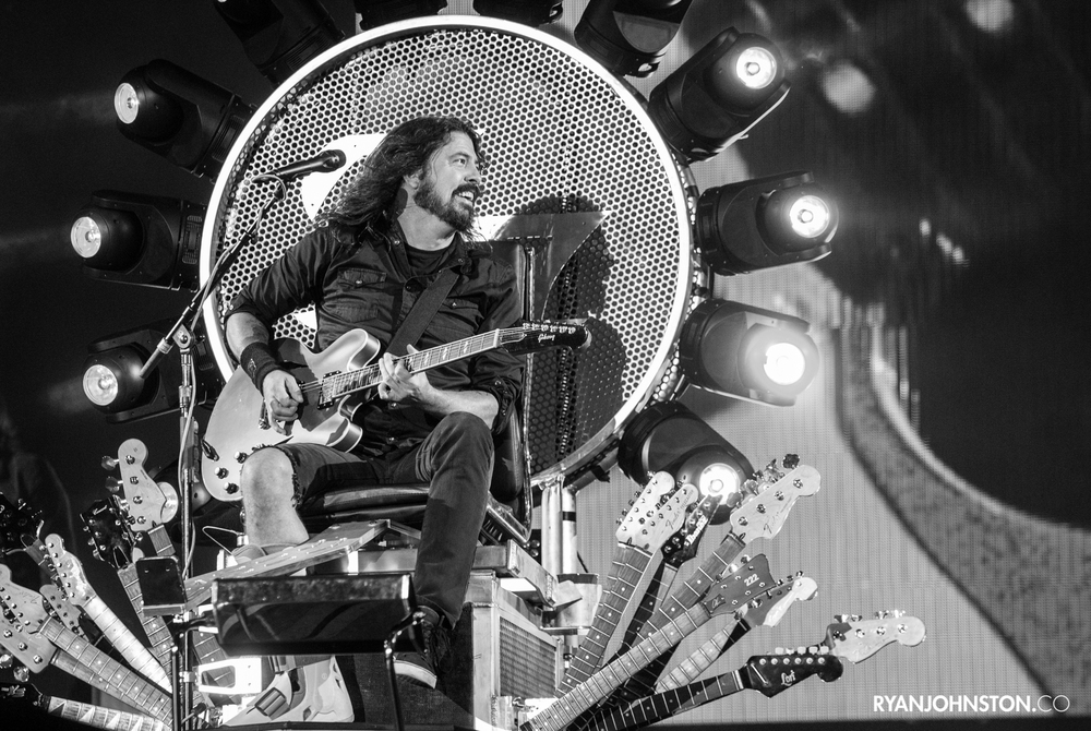 Dave Grohl // Foo Fighters // Murrayfield Stadium