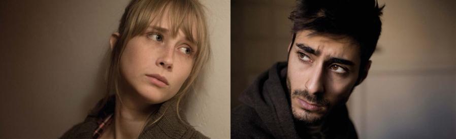 Ingrid García-Jonsson (Natalia) et Carlos Rodríguez (Carlos), les acteurs principaux du film.