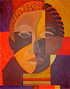 The Face of Soul, 24 x 30, $20,000 USD