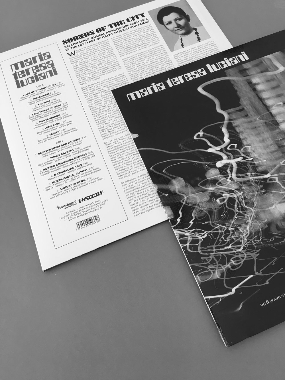 Maria Teresa Luciani - Sounds of the CityLP_2017Finders Keepers
