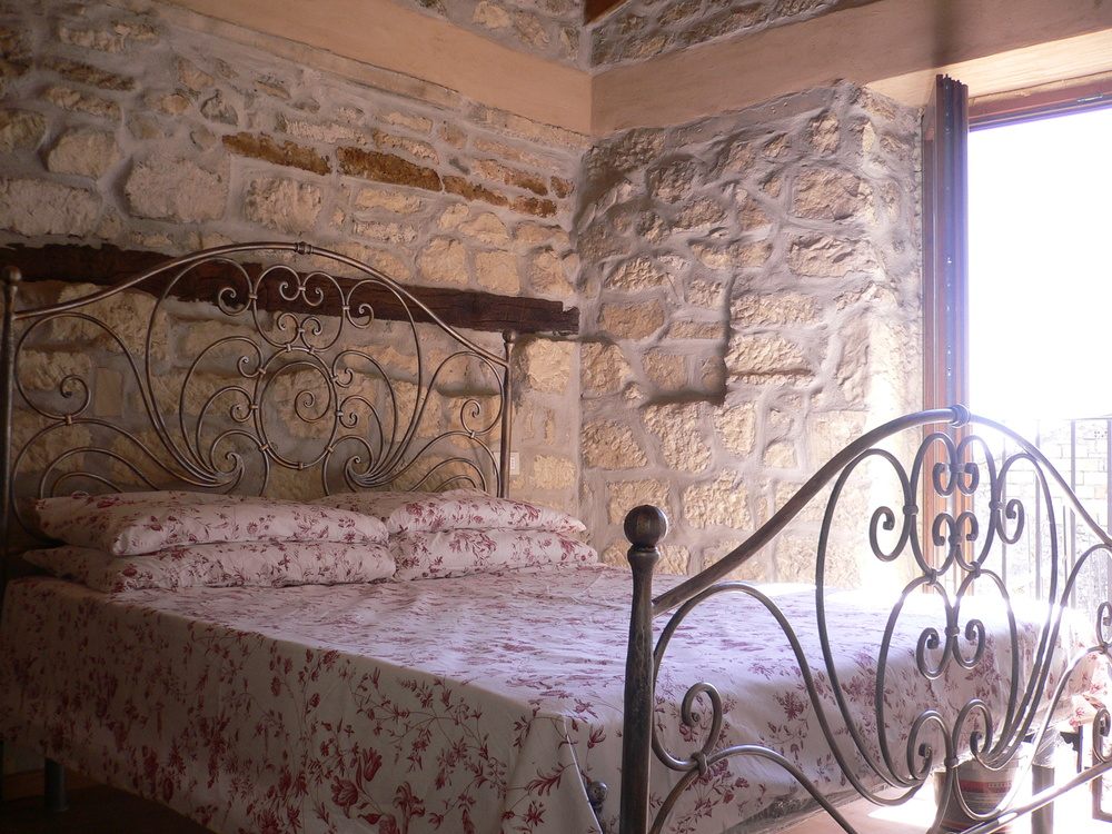 Restored hilltop village accommodation.JPG