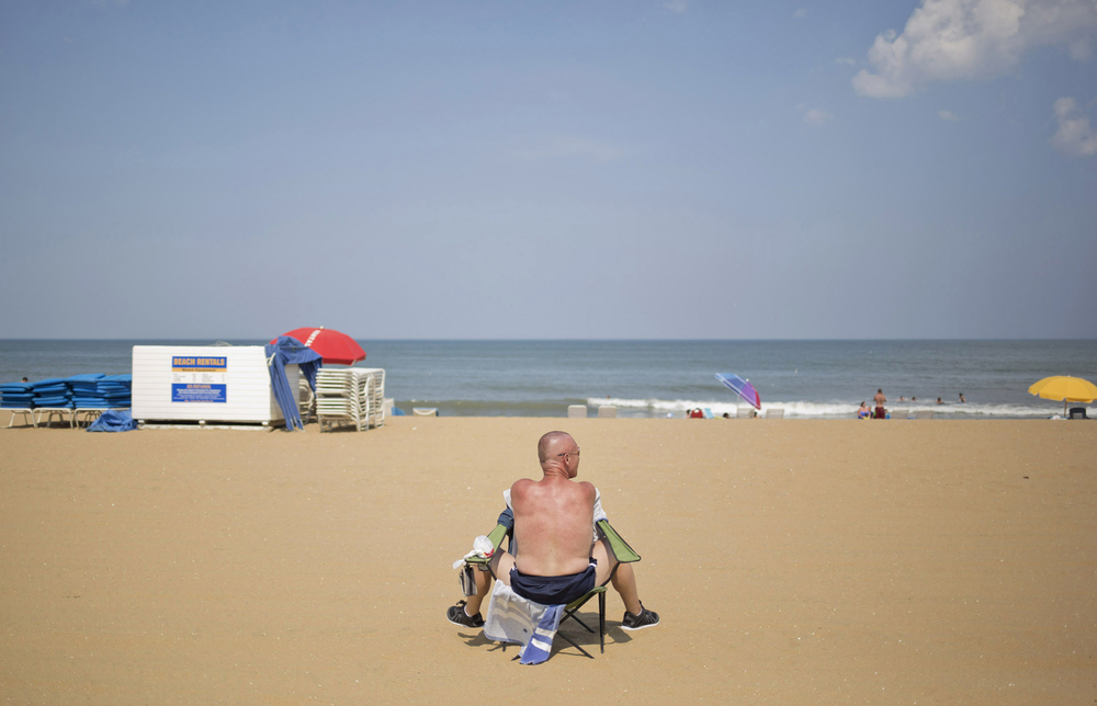 106 Degrees. Virginia Beach, Virginia.