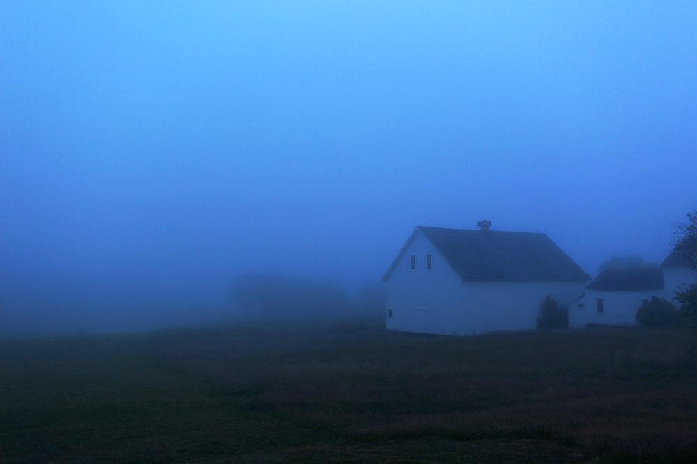 Birthday fog. Harpswell, Maine.