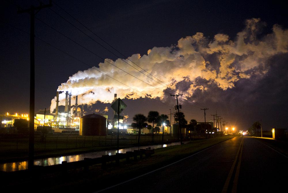 Sugar mill. Belle Glade, Florida.