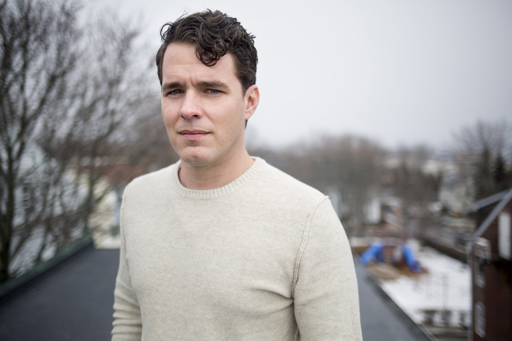 Andrew Bossie at his home in Portland, Maine. He lost his younger brother, Ryan Bossie to an overdose on January 30, 2015. He was 27 years old.