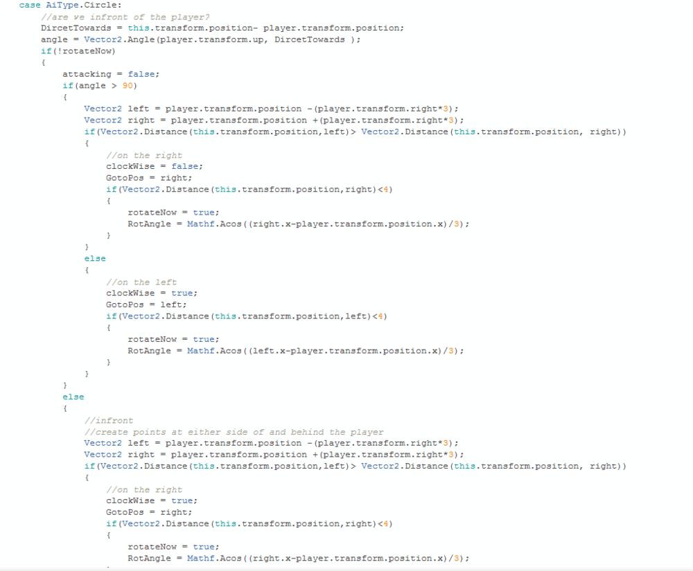 Circle code part 1