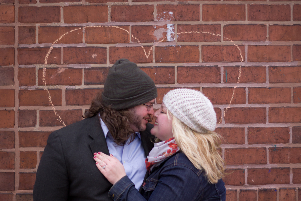 Melanie + Dan:  A Ravenswood Engagement Session