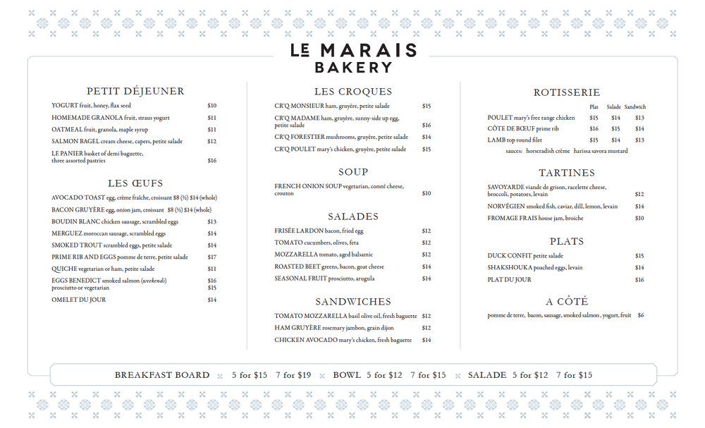 Menu le marais bakery thecheapjerseys Images